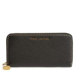 NEW Marc Jacobs The Grind Standard Continental Wal